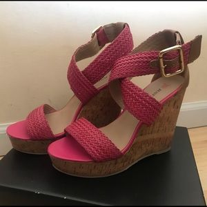 New Pink Wedges